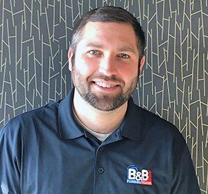 JJ Mulvihill, B&B Service Tech