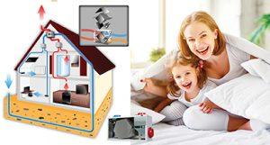 Fresh Air System - Heat Recovery Ventilator - B&B Plumbing & Heating