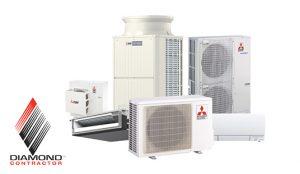 Mitsubishi Product Line - Diamond Contractor - B&B Plumbing and Heating